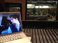 Il maestro ascolta tramite Live-Source collegato su Skype