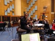 Il Maestro Paolo Vivaldi dirige.