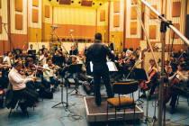 IL M°Enrico Goldoni e la Budapest Symphony Orchestra