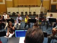 I Musicisti della BSO ricevono le direttive