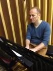 Il Maestro Gabriele Roberto al piano