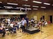 IL  M°Paolo Vivaldi con il Concert Master