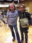 Il Maestro insieme a Cenda Kotzman
