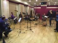 Silvia Catasta dirige i brass della Roma Film Orchestra 1