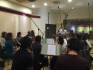 Il M. Emanuele Bossi dirige la Roma Film Orchestra 2