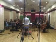 Il M. Emanuele Bossi dirige la Roma Film Orchestra 4