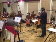 Angelo Giovagnoli dirige gli Archi la Roma Film Orchestra!
