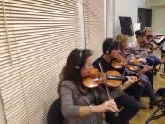 I violini della Roma Film Orchestra 1
