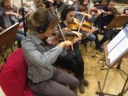I violini della Roma Film Orchestra 2