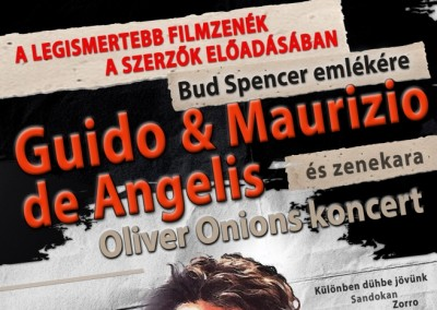 Guido e Maurizio de Angelis – Oliver Onions Concert Budapest Sport Arena