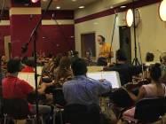 Il Maestro Emanuele Bossi dirige la Roma Film Orchestra 2