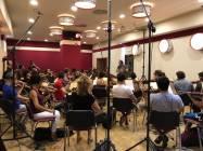 Il Maestro Emanuele Bossi dirige la Roma Film Orchestra 5