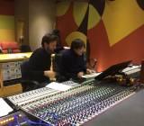 Il Maestro Nicola Tescari e Goffredo Gibellini