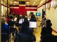 Il maestro Nicola Tescari -Silvia Catasta con la Roma Film Orchestra!