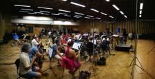 Il Maestro Paolo Vivaldi con la C.N.S.O 3
