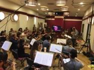 Gli Archi della Roma Film Orchestra diretti da Emanuele Bossi 1
