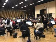 Il Maestro Paolo Vivaldi dirige la CNSO 01