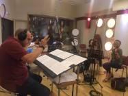 Il Maestro Stefano Caprioli dirige la Roma Film Orchestra