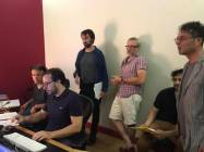 Studiobox 1 Giuliano Taviani e Ago Panini