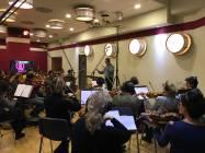 Il direttore Alessandro Molinari dirige la Roma Film Orchestra 4