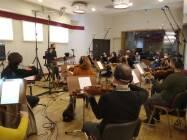 Emanuele Bossi dirige La Roma Film Orchestra