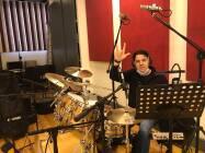 Cristiano Micalizzi alla batteria